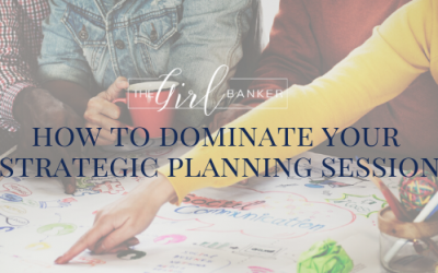 How To Dominate Your Strategic Planning Session